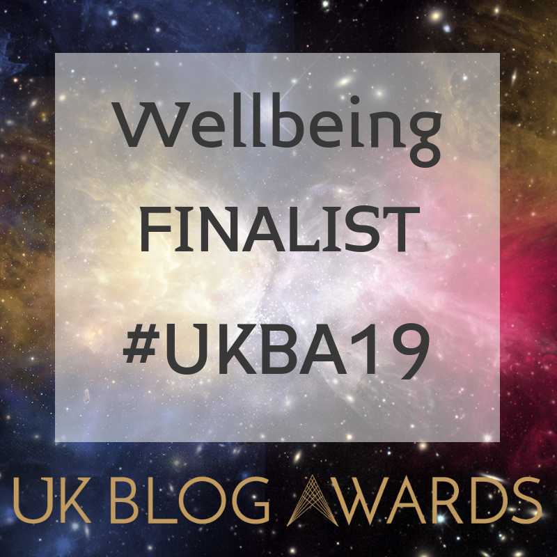 wellbeing finalist badge